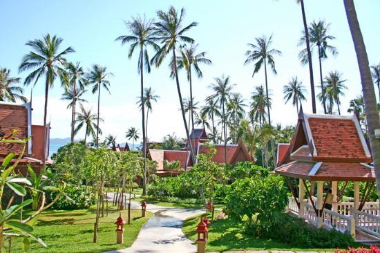 Banburee Resort & Spa: Inside resort