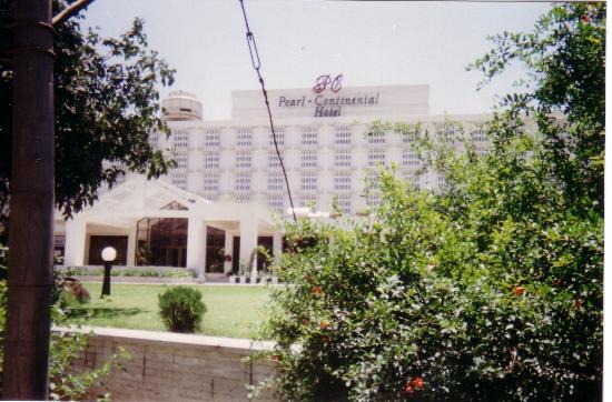 Pearl Continental Hotel Rawalpindi : façade de l'hôtel