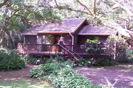 Imvubu Lodge: Our chalet