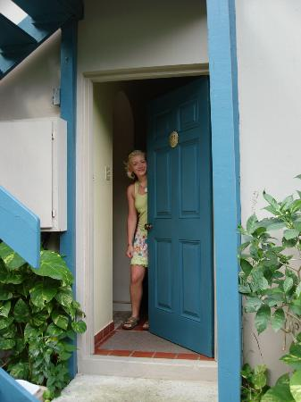 Sugar Mill Hotel: Doorway to our room