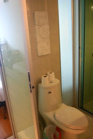 Swana Bangkok Hotel: Toilet