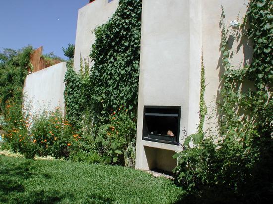 Garden Outdoor Fireplace