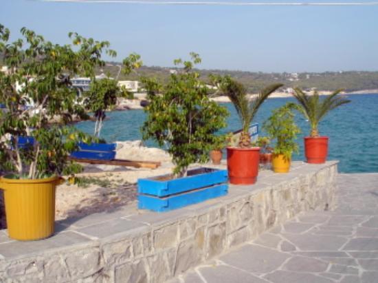 Hotel Karyatides: View