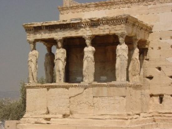 Hotel Karyatides: Karyatides Temple/Athens