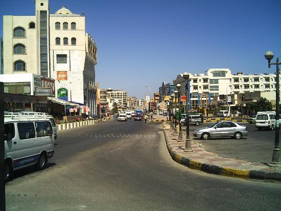 SUNRISE Holidays Resort: Hurghada High Street