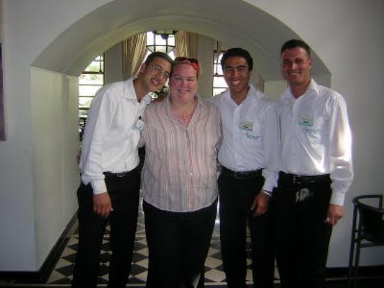 Caribbean Village Agador: Friendly Waiters