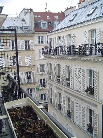Hotel Prince Albert Louvre: View from room