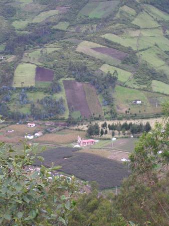 Ali Shungu Mountaintop Lodge: the view