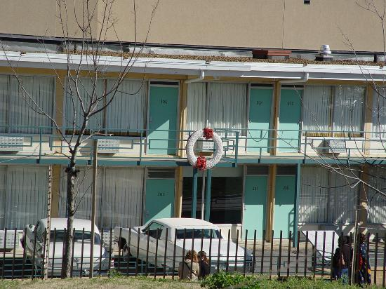 National Civil Rights Museum - Lorraine Motel: The balcony in front of Room 306 is where Dr. Kill was Assassinated