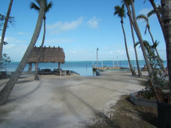 Popp's Motel: beach area