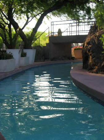 Channel from pool to pool
