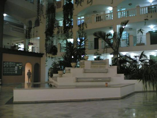 Hotel Bahia Serena: Fountain in the foyer area of hotel
