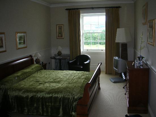 My bedroom in Castle Durrow