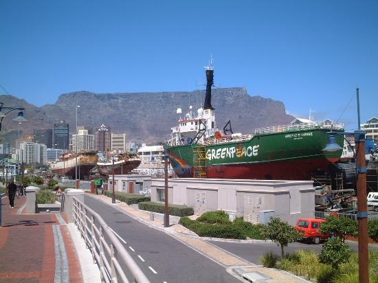 Southern Sun Waterfront Cape Town: Holiday Inn is bottom left in this pic!
