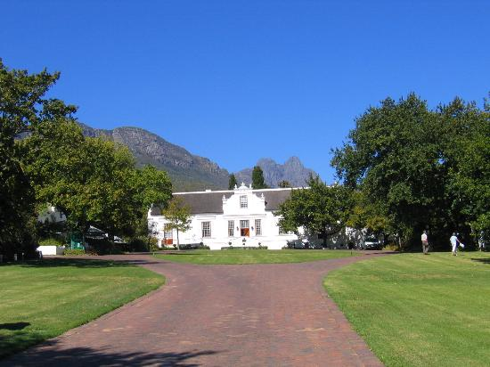 Lanzerac Hotel & Spa : first view of Lanzerac
