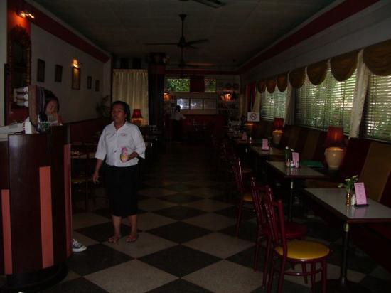 Atlanta Hotel : The restaurant.