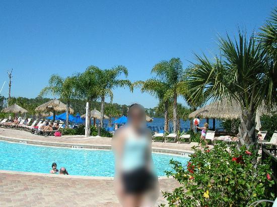 Pool By Restaurant Bar And Fake Beach