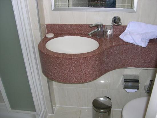 Nayland Hotel: Toilet / Shower