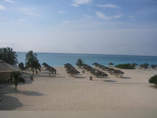 Bucuti & Tara Beach Resort Aruba: View from Tara Suites balcony