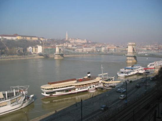 InterContinental Budapest: View from hotel