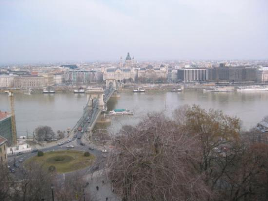 InterContinental Budapest: View from Buda