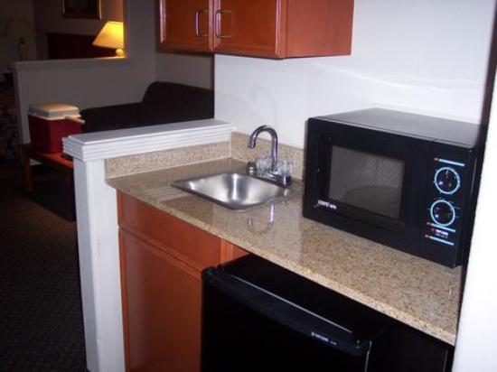 Comfort Inn & Suites Airport - American Way : Holiday inn express Memphis (microwave and refrigerator)
