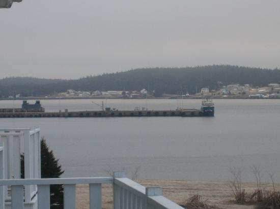 Point of View Suites at Louisbourg Gates: View of Louisbourg from our suite