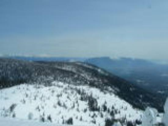Whitefish Mountain Resort Lodging: View from the Summit