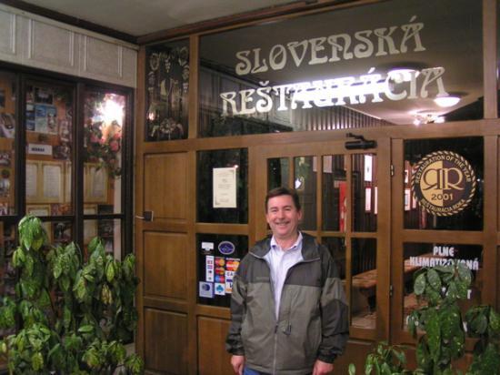 Marrol's Boutique Hotel Bratislava: Recommended restaurant