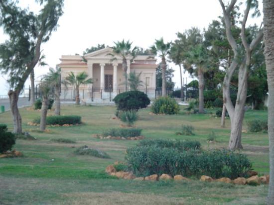 Gärten des Montaza Palace Aufnahme