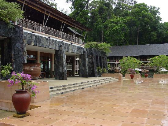 The Datai Langkawi: Restaurant & Lobby/Bar above