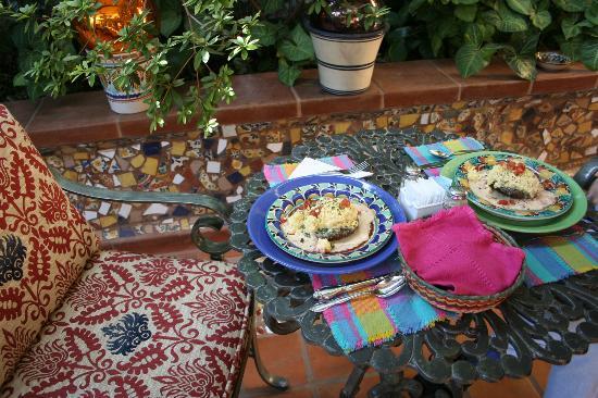 Casa de Las Flores: Gourmet breakfast
