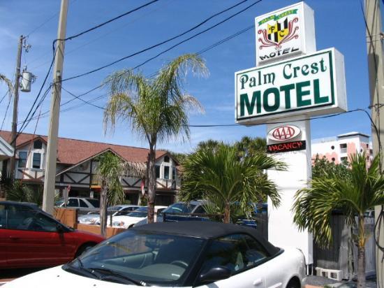 Palm Crest Motel St Pete