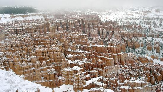 Bryce Trails Bed and Breakfast: Inspiration Point and Bryce Canyon