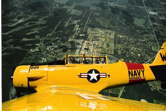 Κίσιμι, Φλόριντα: T6 airborne