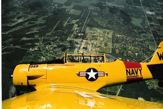 Kissimmee, FL: T6 airborne