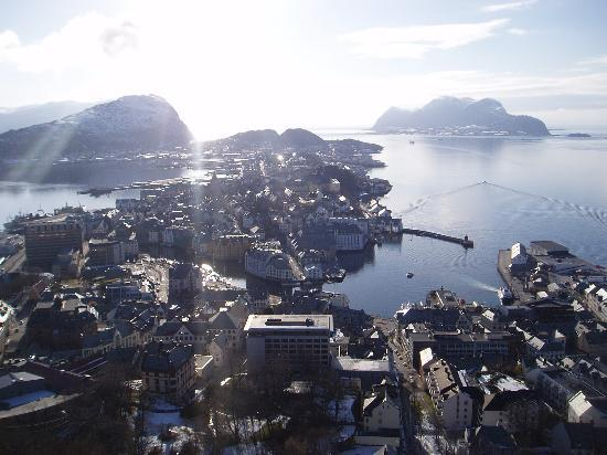 Alesund, Norveç: Ålesund - view from mount Aksla
