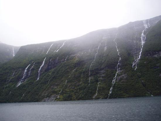 Western Norway, Norway: The seven sisters - Geirangerfjord