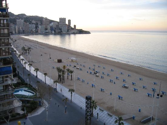 Hotel Cimbel: View from 7th Floor of Seafront