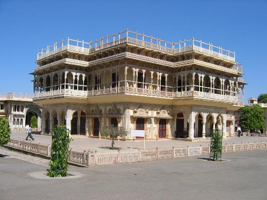 Jaipur, Indien: City Palace