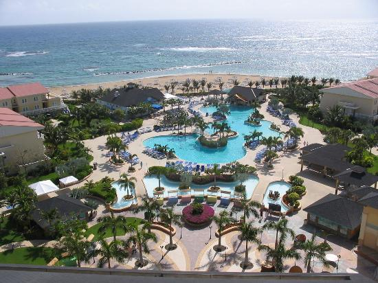 St. Kitts Marriott Resort & The Royal Beach Casino: Main Pool Area
