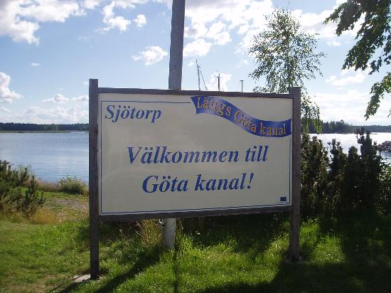 Uppsala County, İsveç: The welcome on board