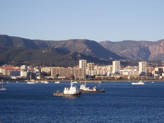 A glimpse from the newer area of Ajaccio.