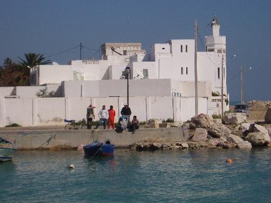White houses of La Goulette