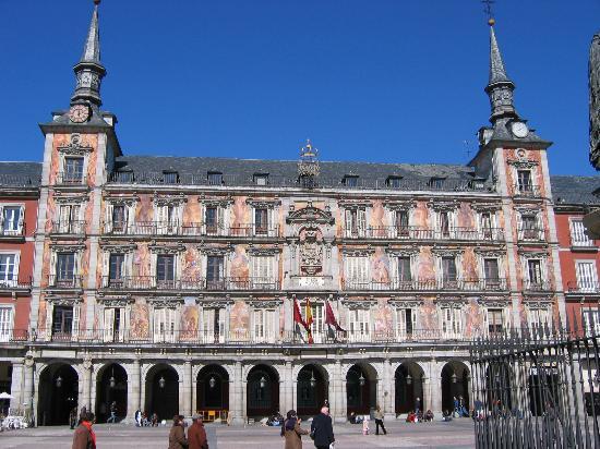 Madrid, Spain: Plaza Mayor on a Sunday Morning