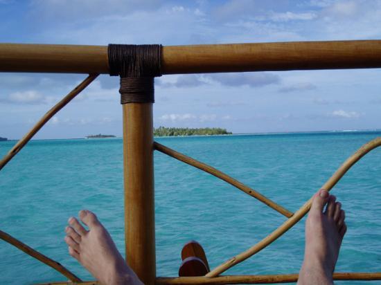 Bora Bora Pearl Beach Resort & Spa: feet