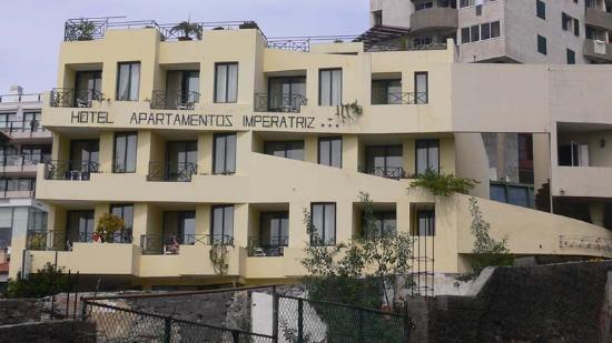 Aparthotel Imperatriz: Building