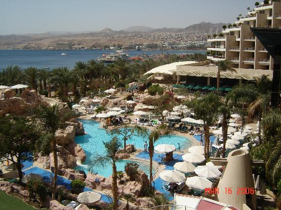 Dan Eilat: View from our balcony