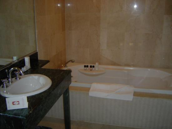 Hotel Metro Jacuzzi Tub in Room