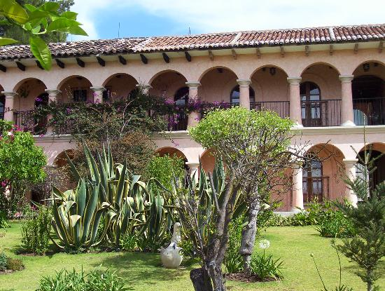 Hotel Rincon del Arco: The garden at hotel